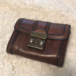 Fossil Vintage Revival Flap Wallet